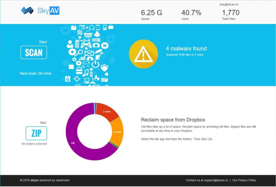 Rawstream launches free cloud anti-virus software, SkyAV